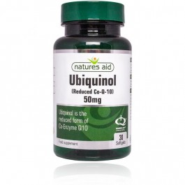 Now Ubiquinol Q10 50mg, 60 kapsul