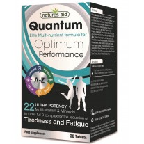 Natures Aid Quantum Ultra močni Multi-Vitamini & minerali, 30 tablet