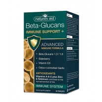 Natures Aid Immune Support + z Beta Glukani, 30 tablet