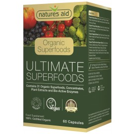 Natures Aid Ultimate Superfoods (Organic), 60 capsules
