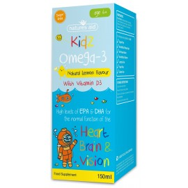 Natures Aid Kidz Omega-3 (with Vitamin D3), 150ml