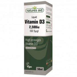 Natures Aid Vitamin D3 5000 IU, 60 tablet