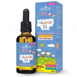 Natures Aid Vitamin D3 400IU Drops for infants & children