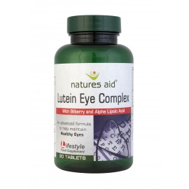 Natures Aid Lutein Eye Complex, 30 tablets