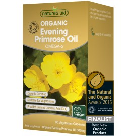 Natures Aid Evening Primrose Oil 1000mg, 120 Capsules