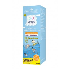 Natures Aid DHA (Omega-3) Drops for infants & children, 50ml